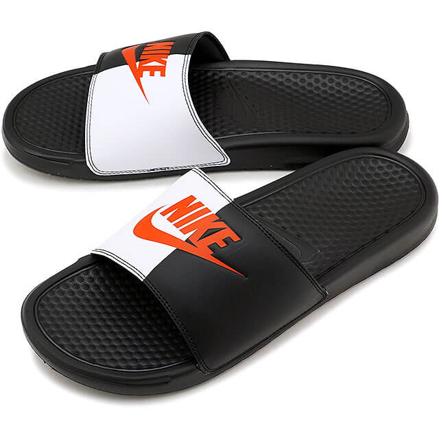 best sneakers e07a3 323b9 ... Nike Benassi Just Do It Black Game Red White 343880-006 ...