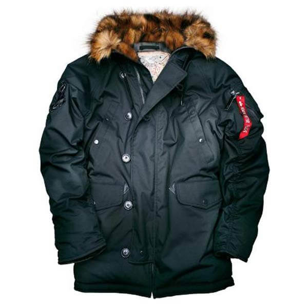 Alpha Industries N3B VF 59 Parka Jacket Black - Gangstagroup.de ... c5dd8f76030