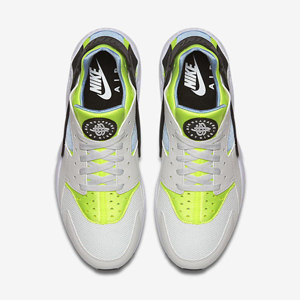 be01caa9c366 ... Nike Air Huarache Shoe Off White Barely Volt Bluecap 318429-107 ...