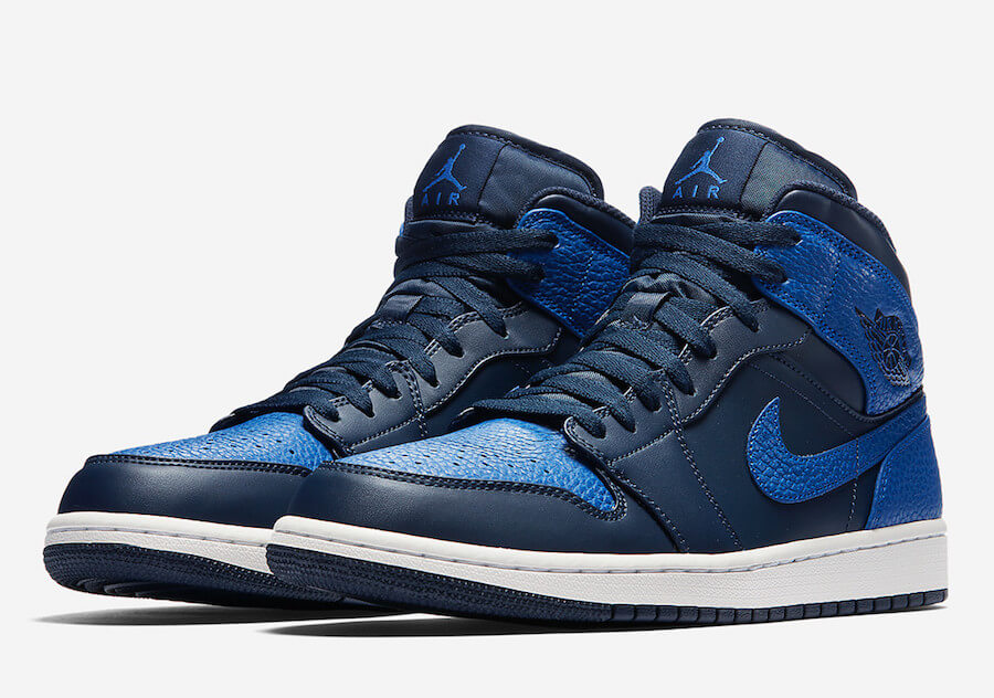 ec268c8002de Air Jordan 1 Mid Obsidian Summit White Game Royal - Gangstagroup.de ...