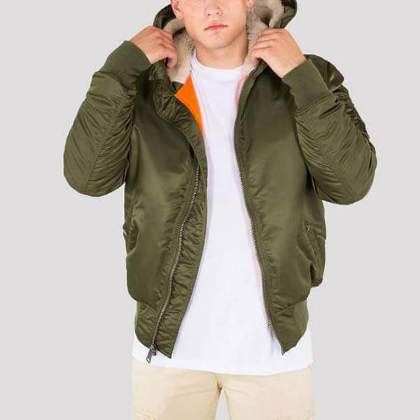 Dark Industries Alpha Jacket 1 Hooded Green Ma mnvNO80wy
