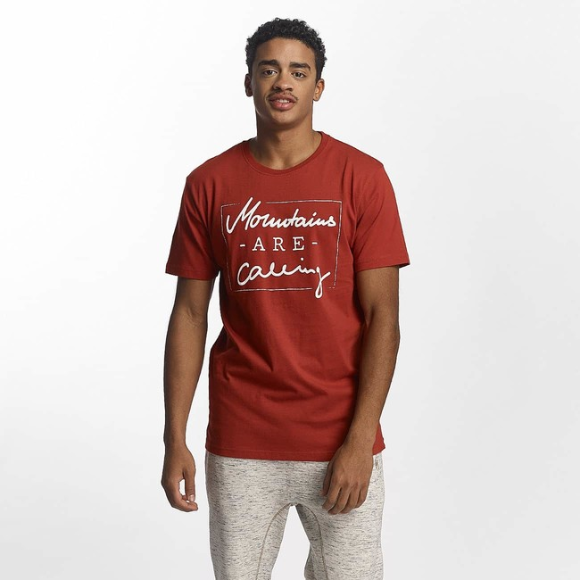 Just rhyse t shirt kasaan in red for Just hip hop t shirt