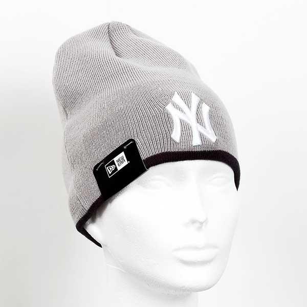 New Era MLB Team Skull knit NY Yankees Grey - Gangstagroup.de ... bcaf4a1e3d