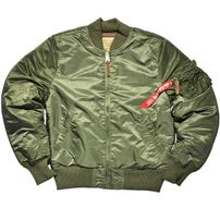 Alpha Industries MA-1 VF 59 Long Sage Green