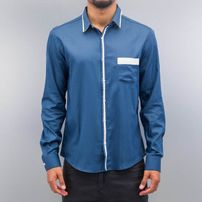 Cazzy Clang *B-Ware* Quinn II Shirt Blue