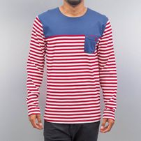 Cazzy Clang *B-Ware* Stripes Longsleeve Red/White/Blue