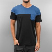 Cazzy Clang Breast Pocket T-Shirt Black/Blue
