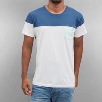 Cazzy Clang Pocket T-Shirt White/Blue