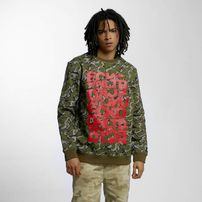 Ecko Unltd. Military Sweatshirt Green/Camo