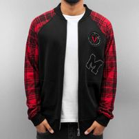 Just Rhyse Patches College Jacket Black
