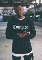 Mr. Tee Compton Crewneck black