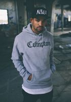 Mr. Tee Compton Hoody h.grey/blk
