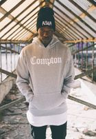 Mr. Tee Compton Hoody heather grey