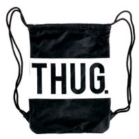 Thug Life Thug Gym Bag Black
