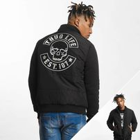 Thug Life / Winter Jacket Big Logo in black