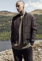 Urban Classics Basic Quilt Bomber Jacket black