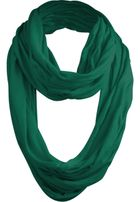Urban Classics Wrinkle Loop Scarf green