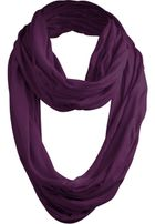 Urban Classics Wrinkle Loop Scarf purple
