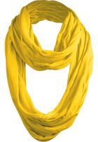 Urban Classics Wrinkle Loop Scarf yellow