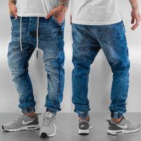 Who Shot Ya? Antifit Jeans Blue