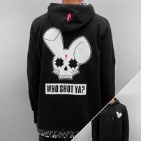 Who Shot Ya? Big Logo Hoody Black