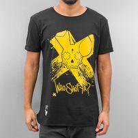 Who Shot Ya? Cross T-Shirt Black