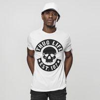 Mr. Tee Thug Life Skull Tee white