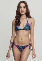 Urban Classics Ladies Tropical Bikini flower