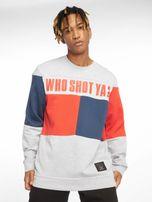 Who Shot Ya? / Jumper Block in grey