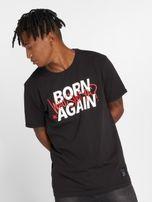 Who Shot Ya? / T-Shirt Born Again in black