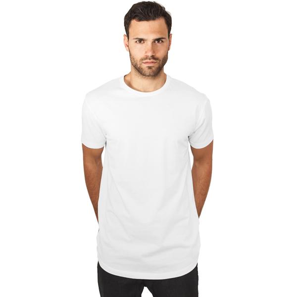 9ab088c612577a Herren T-Shirt Urban Classics Shaped Long Tee white - Gangstagroup ...