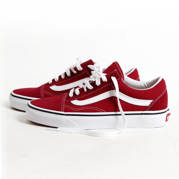 Vans Old Skool 'Rumba Red' [VN0A38G1VG4] | Vans shop, Vans